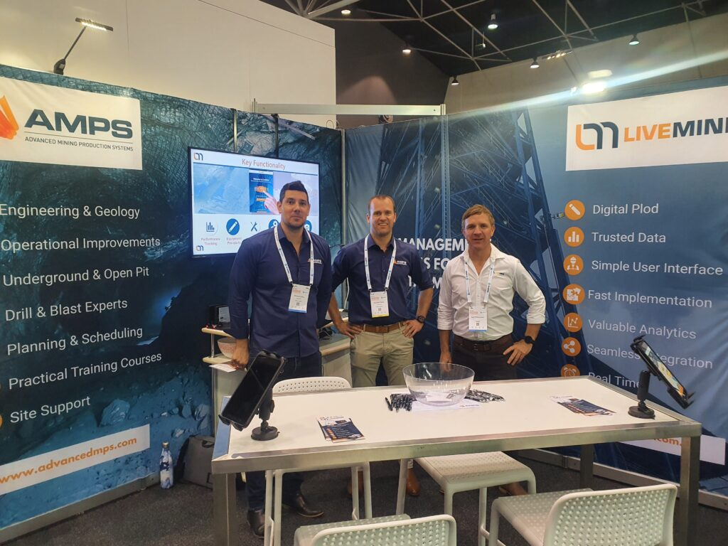 AMPS & LiveMine Team at Underground Operators Conference 2021